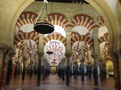 Mezquita, Mosque cathedral, in Cordoba, Spain