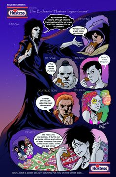 The Endless and Hostess by *AxelMedellin on deviantART