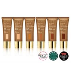 IMAN COSMETICS - Makeup and skin care for women of color. - Black / African American, Caribbean, Hispanic / Latin, Asian, Middle Eastern, Pacific Island and Native American skin tones.