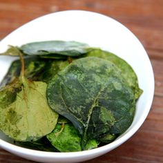 Move Over, Kale Chips! Spinach Chips Are the New Snack in Town