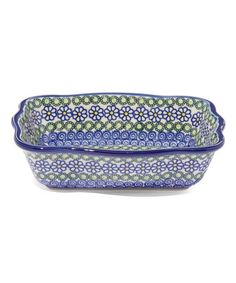 This Blue Daisy Fala Baker is perfect! #zulilyfinds