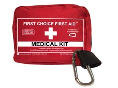 FIRST AID KIT SURVIVAL PERSONAL WATERPROOF MEDICAL BAG Emergency  Best Quality Small Lightweight ER Medic Pouch for Wound Trauma Outdoors Travel Sports Fishing Camping Bike Auto Home Emergency * See this great product.
