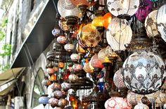 Grand bazar, Istanbul by sarouchk, via Flickr
