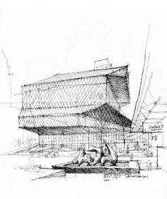 Seattle Public Library | Urban Sketchers