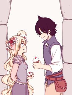 <3<3 fairy Tail cross over