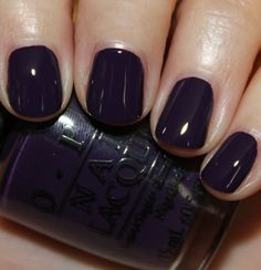 WANT: OPI Vant To Bite My Neck (Euro Centrale Collection for Spring/Summer 2013).  Recently bought 3x from this collection... should have got this one too.