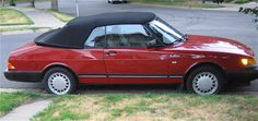 Need to find a new car and all I want is this 1989 Saab 900 convertible