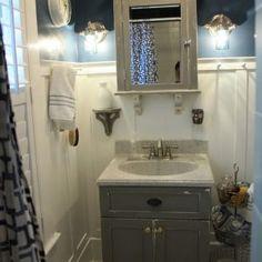 Shabby Chic Bathroom Vanity Light
