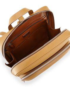17cf2a0de6e2 Saffiano Cuir Slim Backpack
