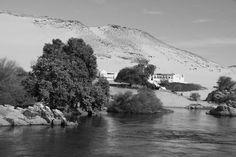 A orillas del río Nilo (Egipto).