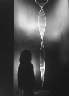 Len Lye's 'Zebra' Bridget Riley, Interactive Installation, Light Installation, François Morellet, Nam June Paik, New Zealand Art, London Design Festival, Kinetic Art, Black White Art
