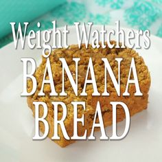 Best Weight Watchers Banana Bread recipe is a fast time-saving sweet bread recipe with healthy ingredients that you can feel good about. At just 3 Smart Points per serving, you can enjoy a slice of Weight Watchers Banana Bread with dinner or as a snack. Weight Watcher Banana Bread, Weight Watchers Cake, Weigt Watchers, Weight Watchers Muffins, Weight Watcher Smoothies, Weight Watchers Meal Plans, Weight Watchers Breakfast, Weight Watchers Desserts, Weight Watchers Pumpkin Bread Recipe