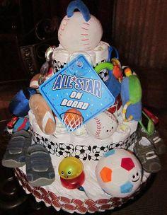MVP. Diaper cake.