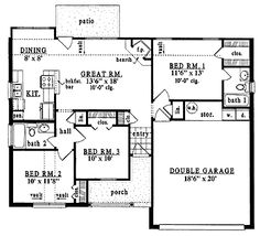 1000 images about 1000 square feet homes on pinterest for 1000 sq ft garage plans