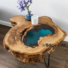 Epoxy table - Home Table D'angle, Table Cafe, Diy Table, Wood Resin Table, Epoxy Resin Table, Diy Epoxy, Diy Furniture Table, Resin Furniture, Diy Furniture Projects