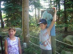 My Grandson and friend @ Toledo Zoo