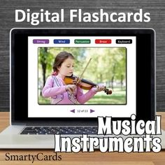 Musical Instruments for Kids Interactive Flashcards for Smartboard or PC Music Flashcards, Printable Flashcards, Music Activities, Music For Kids, Classroom Fun, Your Teacher, Teacher Newsletter, Musical Instruments, Kids Learning