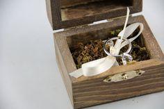 Porta-alianzas de musgo y tipo nido 4