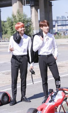 Bts RM and jungkook