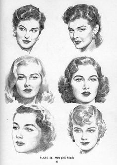 PORTRAIT DRAWING William Andrew Loomis better known simply as Andrew Loomis, was an American illustrator, author, and art instructor L'art Du Portrait, Portrait Sketches, Art Sketches, Art Drawings, Pencil Drawings, Drawing Heads, Life Drawing, Figure Drawing, Drawing Style