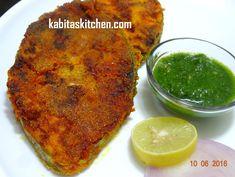 Fish Fry Recipe-Surmai Fish Fry-Maharashtrian fish fry-Easy Fish Fry-Fis...