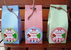 Caixinha Milk - Três Porquinhos