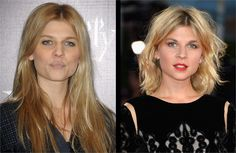 Clemence Poesy: Capelli Lunghi vs. Bob