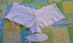 Lace Shorts, Bikinis, Swimwear, Crochet Necklace, Underwear, Summer Dresses, Sewing, Blog, How To Make