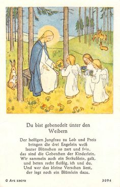 "Fleißbildchen Heiligenbild Gebetbild "" ARS Sacra""1930"" H4760"" IDA Bohatta   eBay"
