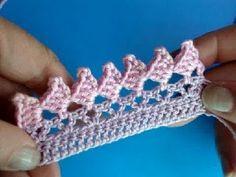 Вязание крючком Урок 266 - Кайма - 7 Crochet border edging