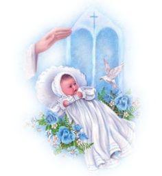 Imagens para Decoupage: Batismo-Batizado