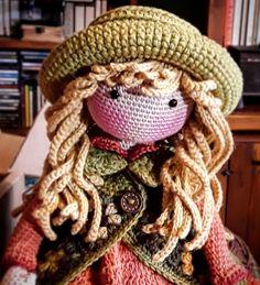 Куклы Crochet Doll Clothes, Knitted Dolls, Crochet Dolls, Crochet Baby, Crochet Patterns For Beginners, Easy Crochet Patterns, Doll Patterns, Knitting Patterns, Kawaii Doll