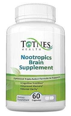 At last! Support Clear Thinking, Excellent Memory and an End to Confusion with just ONE pill each day: NEW Totnes Nootropics Brain Supplement [60 day supply] >>> Want to know more, click on the image.