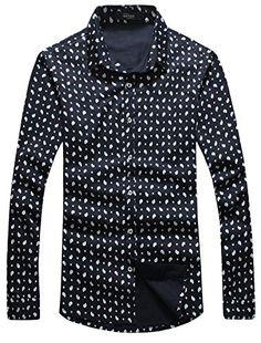 APTRO Men's Cotton Slim Fit Long Sleeve Casual Dress Shirt 5237 Drops US XS APTRO http://www.amazon.co.uk/dp/B015XMCEC6/ref=cm_sw_r_pi_dp_4-oywb19X62XP