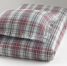 European Cabin Plaid Flannel Duvet Cover | Duvet Covers & Shams | Restoration Hardware Baby & Child