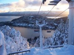 San Carlos de Barriloche - Snow boarding in Argentina! here's hoping nothing breaks! Ushuaia, Oh The Places You'll Go, Places To Travel, Rustic Pictures, In Patagonia, The Beautiful Country, Winter Photography, Amazing Destinations, South America