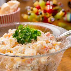 Feiner Kartoffelsalat mit Seelachs
