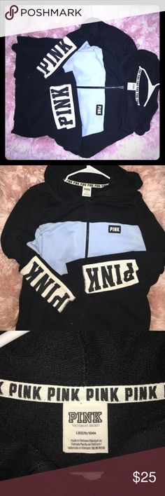 Pink (Large) hoodie Blue and black Pink PINK Other