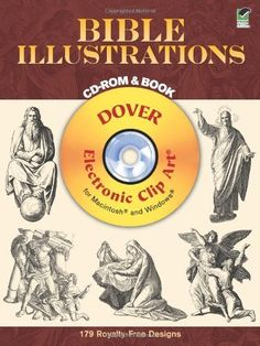 Bible Illustrations CD-ROM and Book (Dover Electronic Clip Art) by Dover. $16.46. Publisher: Dover Publications (December 28, 2011). Series - Dover Electronic Clip Art. Publication: December 28, 2011