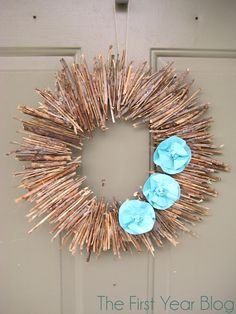 Twig Wreath Oh yeah! I have lots of twigs!