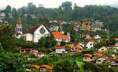 Hermosa fotografía de la Colonia Tovar.