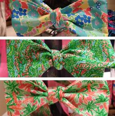 Lilly bows.
