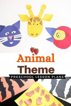 No matter what animal is their favorite, your kids are sure to love the fun and engaging activities in these Animal Theme Lesson Plans from Life Over C's! These activities are perfect for preschoolers. Grab these teaching resources! Lesson Plans For Toddlers, Preschool Lesson Plans, Preschool Books, Educational Activities For Toddlers, Preschool Activities, Preschool Curriculum, Creative Arts And Crafts, Kindergarten First Day, Animal Crafts For Kids