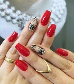 Nail Polish Designs, Nail Designs, How To Do Nails, My Nails, Easter Nails, Nail Arts, Christmas Nails, You Nailed It, Make Up