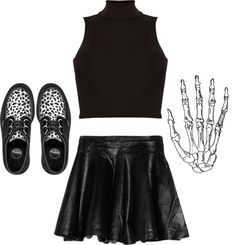 """""""boys like a little danger"""" by s-kull ❤ liked on Polyvore"""