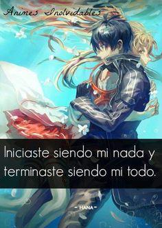 esto se aplica a Sword Art Online, a Zero no Tsukaima, a Inuyasha, a Kyokai no Kanata, a Sakura Card Captor, Ranma y mas y mas. El amor es infinito