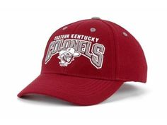"Eastern Kentucky Colonels NCAA TOW ""Dedication"" Snapback Hat New #TopoftheWorld #EasternKentucky"