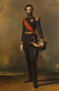 Winterhalter_François-Ferdinand-Philippe d'Orléans, prince de Joinville (1818-1900) Date1844 215 × 140 cm  Palace of Versailles