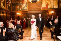 Captured by BKB & Co., this autumn wedding at the Boston Public Library was full of rich reds and gold, with a calla lily bouquet. Professional Wedding Photography, Wedding Photography And Videography, Gold Wedding Colors, Wedding Color Schemes, Boston Public Library Wedding, Calla Lily Bouquet, Shots Ideas, Wedding Ceremony, Wedding Shot