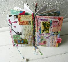 Butterfly Found Papers Journal 2 by Jennibellie, via Flickr
